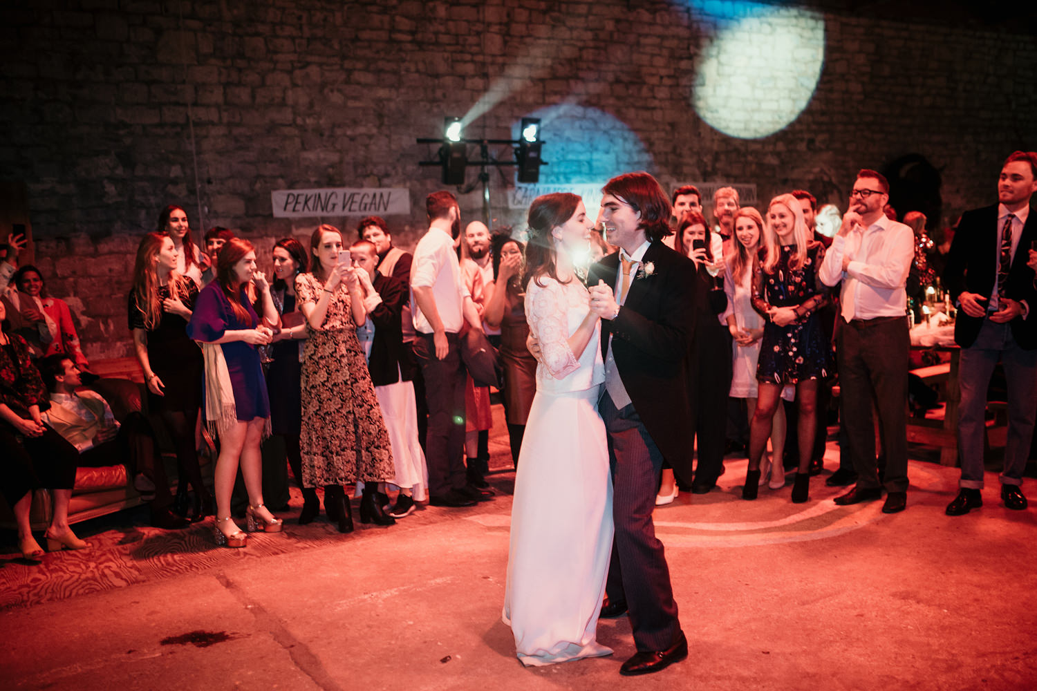 first dance during a Stroud Wedding in Cotswolds
