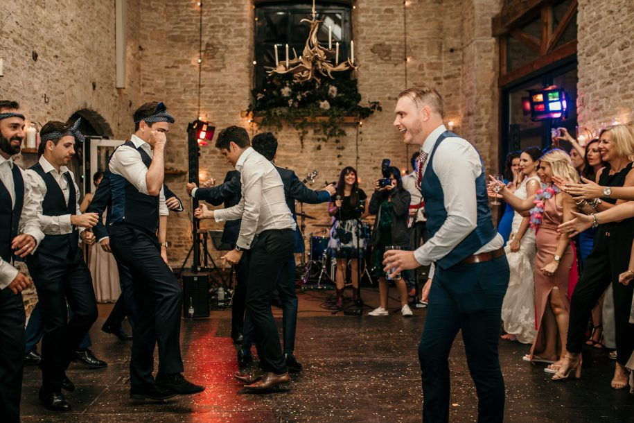 dance-off competition for wedding reception ideas