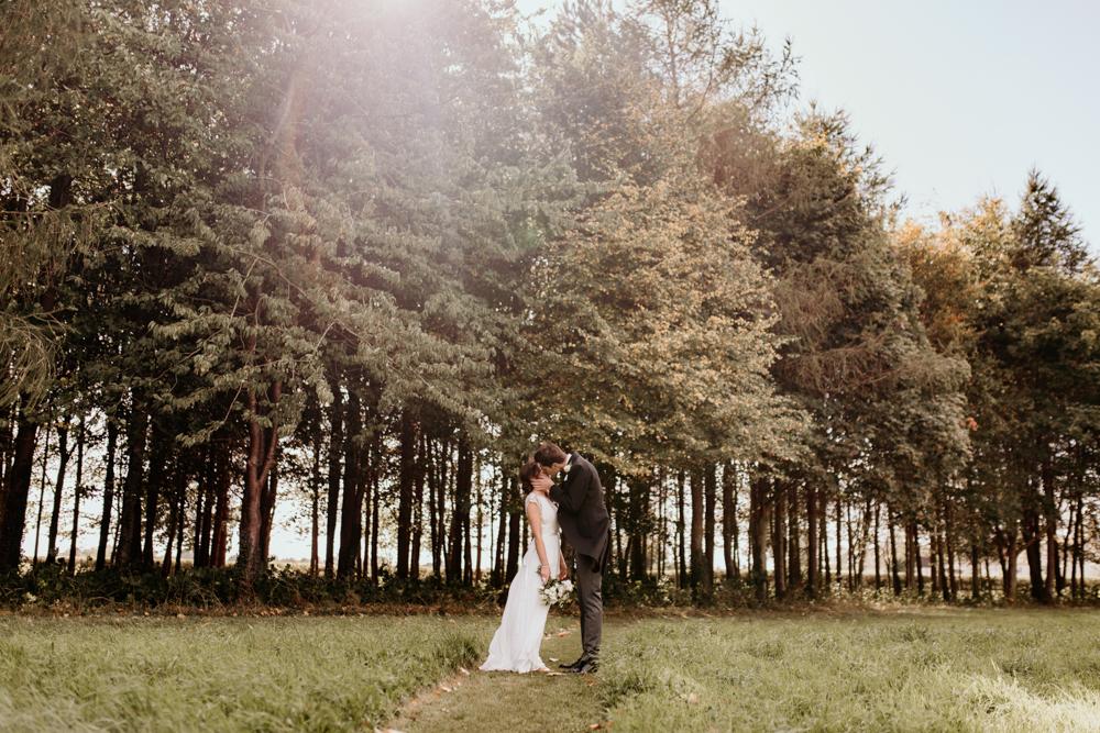 wedding portraits during a Poulton wedding