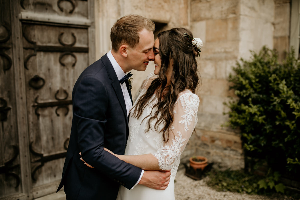 bridal portraits for a Priors Court Barn wedding Gloucester