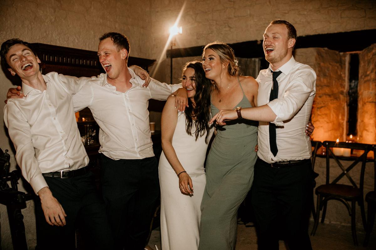 Priors Court Barn wedding reception