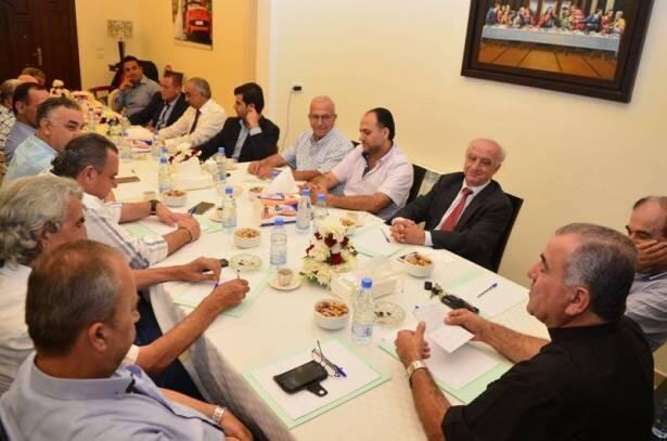 التوافق على انتخاب زياد الحجار رئيسا لاتحاد بلديات اقليم الخروب الشمالي وجورج الخوري نائبا له