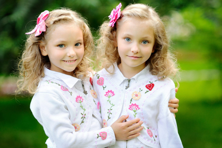 Why twins look so much alike.. but they are not exactly the same?
