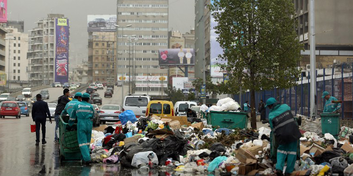 أنيرا اطلقت مشروع ادارة النفايات في تمنين الفوقا