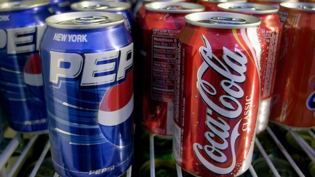 What's the relation between Coke, Pepsi… and health groups?