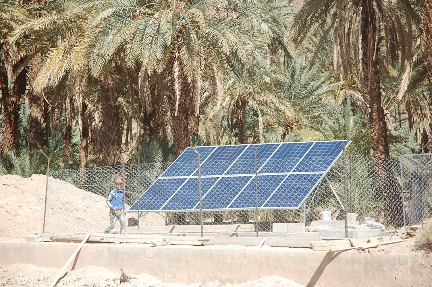 """""""غرين إنرجي بارك""""… تكنولوجيات مغربية في مجال الطاقة الشمسية"""