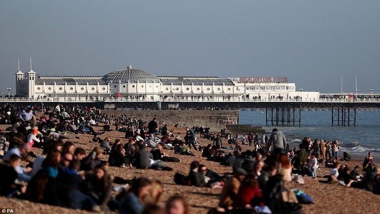 بريطانيا تسجل درجات حرارة أعلى من السعودية