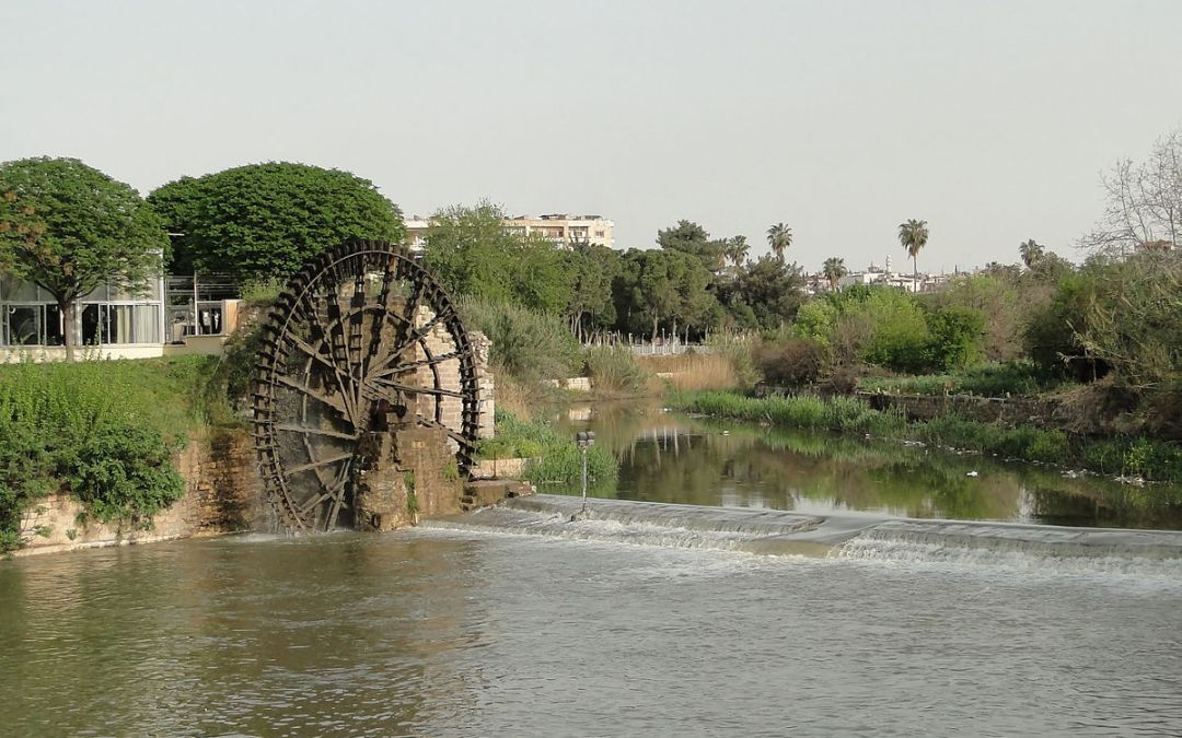 نهر العاصي في سوريا يئن من تلوث خطير