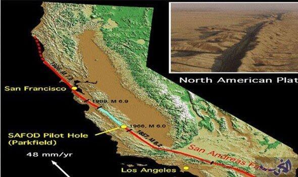 صدع سان أندرياس يهدد لوس أنجلوس بزلزال مدمر