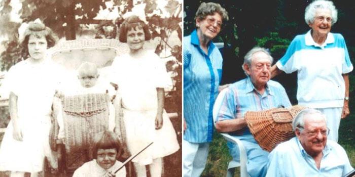 Cuatro hermanos de 110, 109, 103 y 101 años iluminan los genes de la longevidad