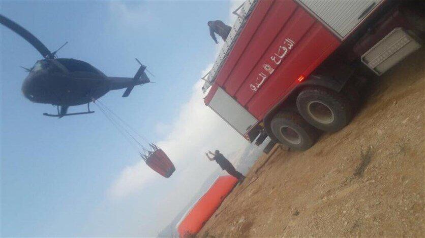 جمعية حماية جبل موسى ناشدت مواصلة العمل لاخماد النيران في المحمية