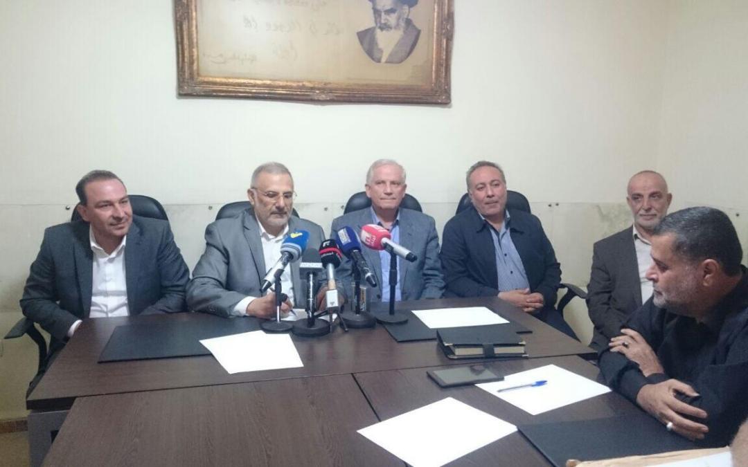 المقداد خلال أطلاق العمل لحفر مطمر في بعلبك: رهاننا على القوى الأمنية لمنع تخريب المشروع مجددا