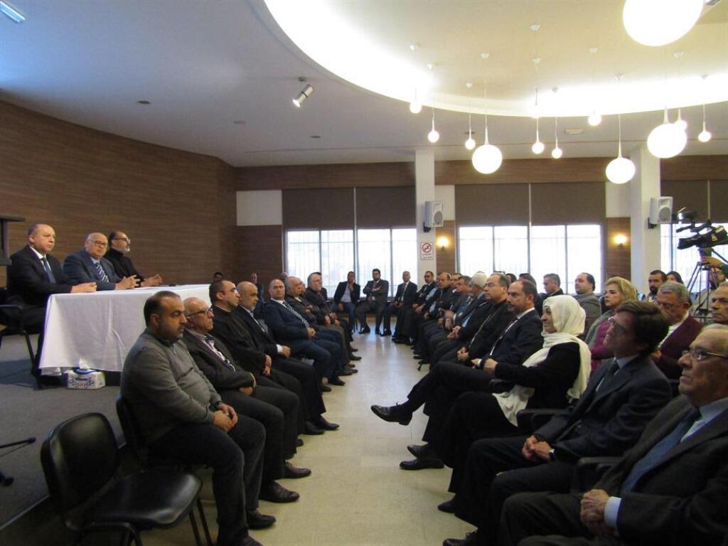 بلدية صيدا إستضافت إطلاق مشروع الخطة الإستراتيجية لإتحاد بلديات صيدا الزهراني