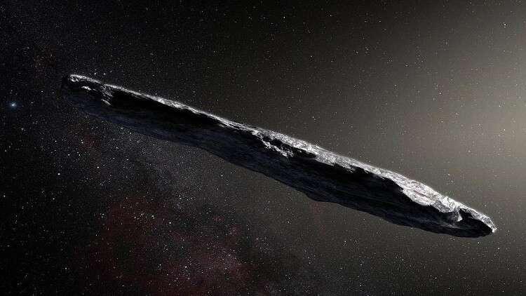 """أولى نتائج البحث عن أصل """"المركبة الفضائية الغريبة"""""""