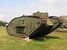 اول دبابة في العالم كانت موجودة في بريطانيا
