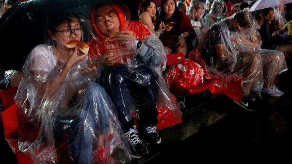انخفاض غير معتاد في درجات الحرارة في سنغافورة