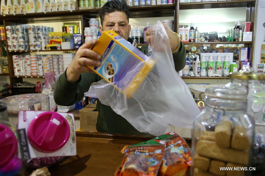 Greece charges for plastic carrier bag use at supermarkets