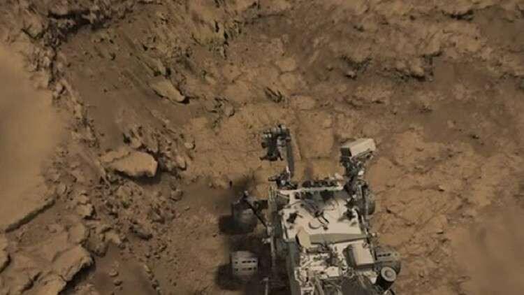 نيزك نازح من المريخ يعود إلى موطنه