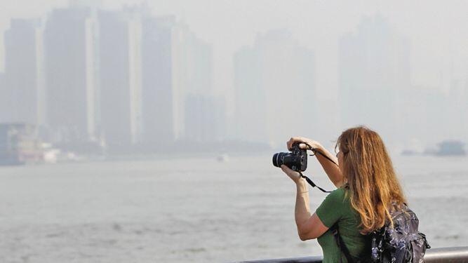 China sufre de los partículas del aire