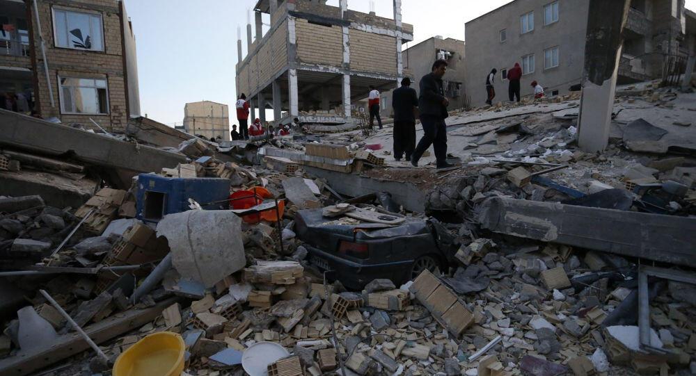 زلزال بقوة 5.8 درجة يضرب جنوب شرق إيران وإصابة 25