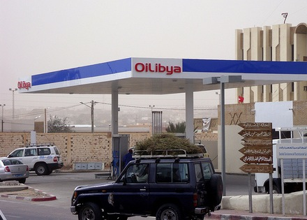 OiLibya Gas Station in Tozeur