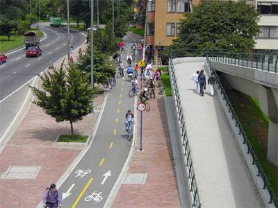 bike path Stockholm