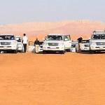 ドバイの砂漠ツアー【砂漠に宿泊】