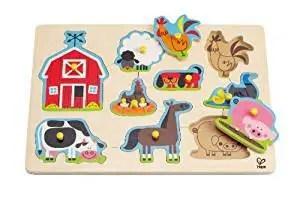 hape toddler puzzle sale
