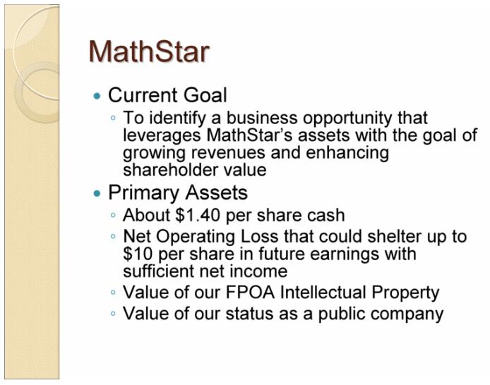 MATH Presentation Slide 1