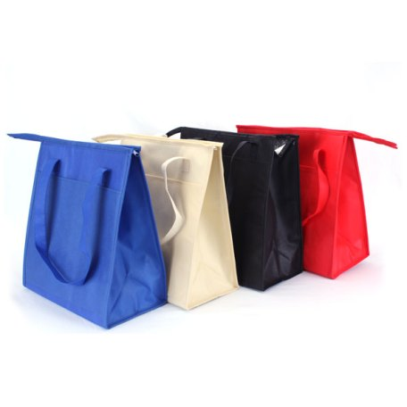 Large eco-friendly insulated bag color variations