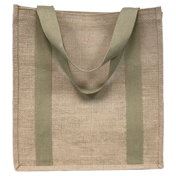 Eco-friendly jumbo jute shopping bag