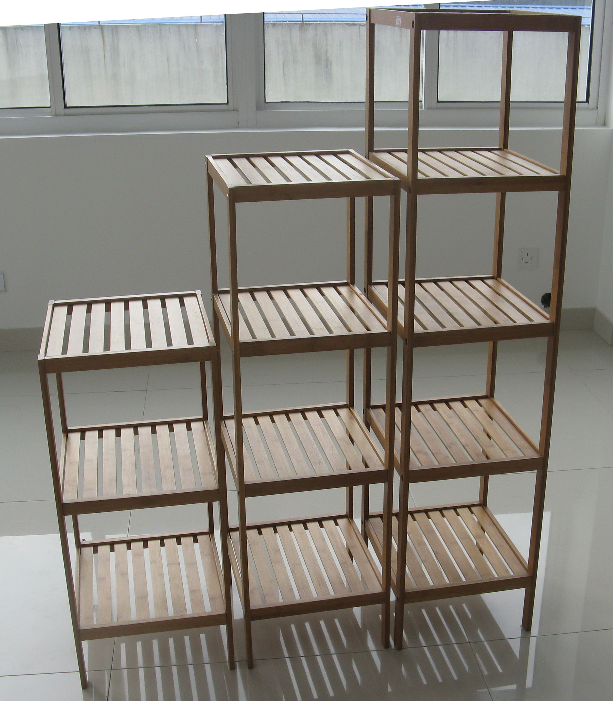 bamboo storage shelf greenbamboofurniture