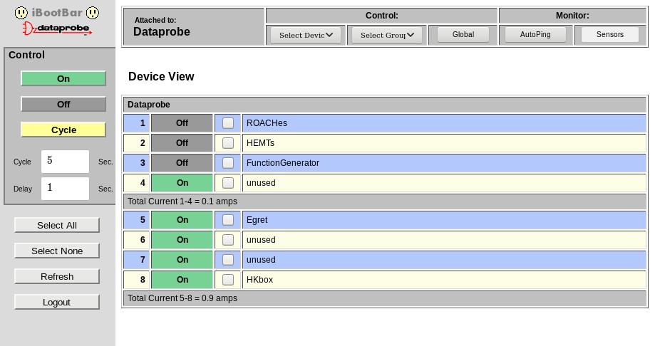image of ibootbar screen