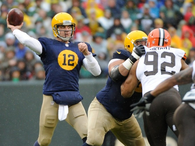 USP NFL: CLEVELAND BROWNS AT GREEN BAY PACKERS S FBN USA WI