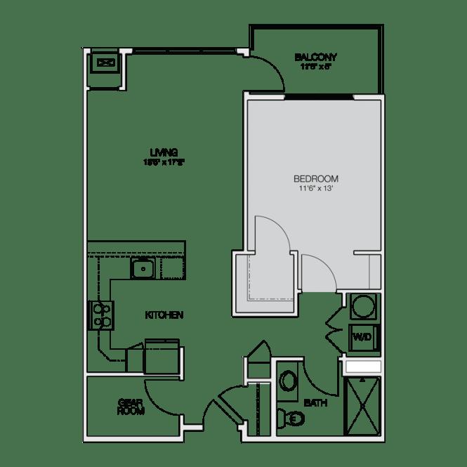 Apartment Floor Plans Greenbelt