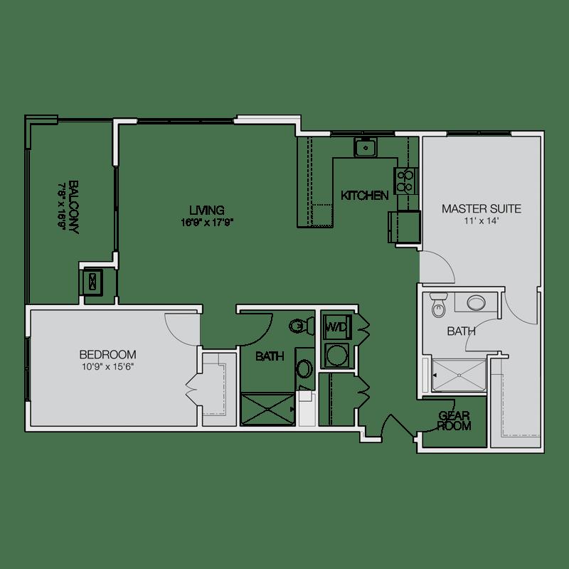 Apartment Floor Plans  Greenbelt Apartments