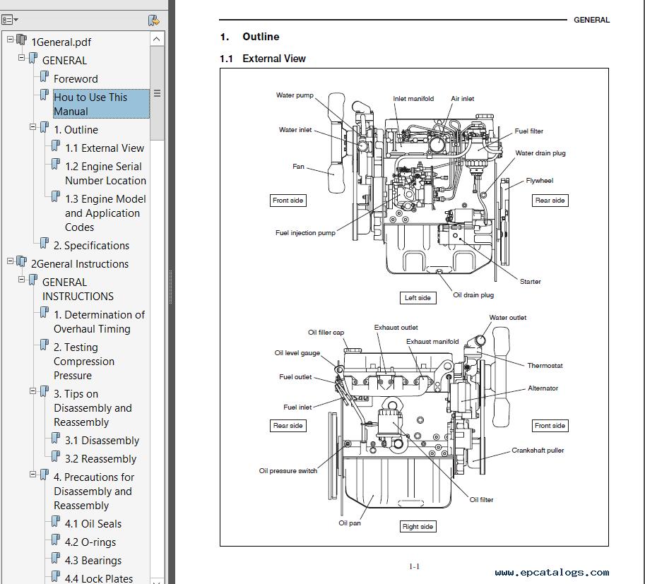Caterpillar Diesel Generator Service Manual Pdf