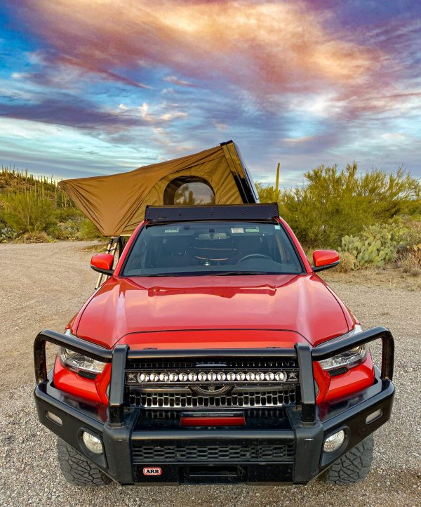 Desert Armor Roof Top Tent Warrior 2 Person RTT