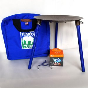TemboTusk Adventure Skottle Grill Kit