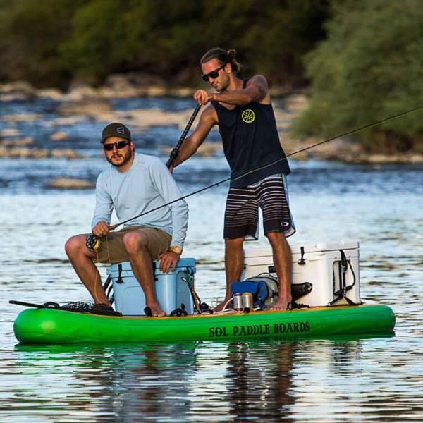 SOLSombrero Sombrero Paddleboard Fishing Greenbelt