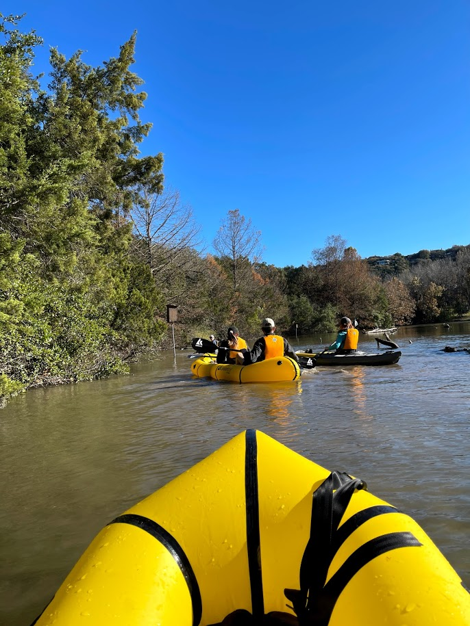 Barton Creek Greenbelt Packraft Tour Austin