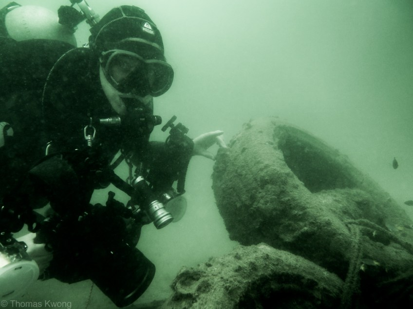 Shelter Island artificial reef structures