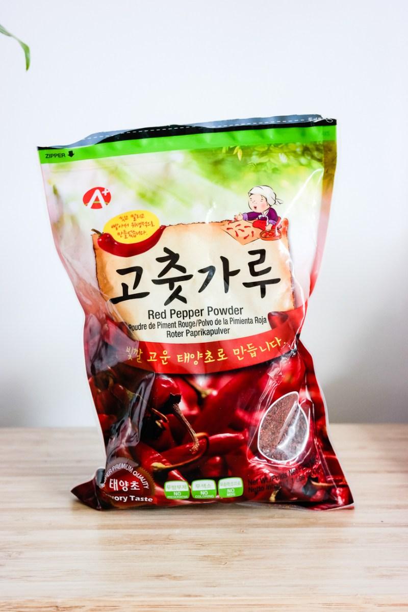 Korean red pepper powder