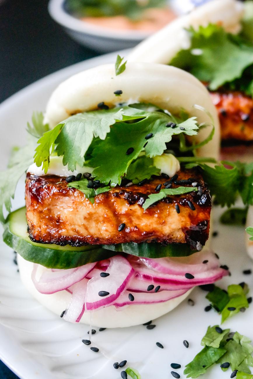 Det er mulig at steamed bun med hoisin-tofu er noe av det peneste du kan spise.