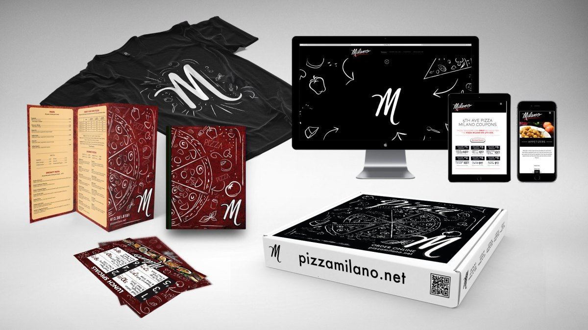 Pizza Milano - Branding Package