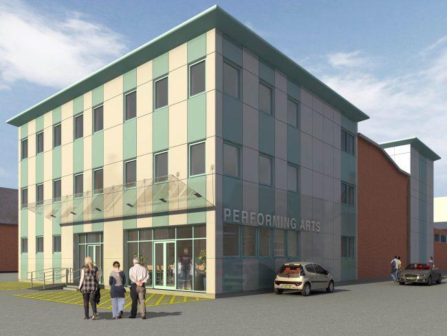 bridgend-college-new-lecture-theatre-external