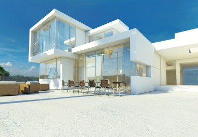 Glass House Windows