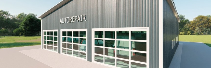 Metal Auto Repair Building Kits Get A Price For A Steel