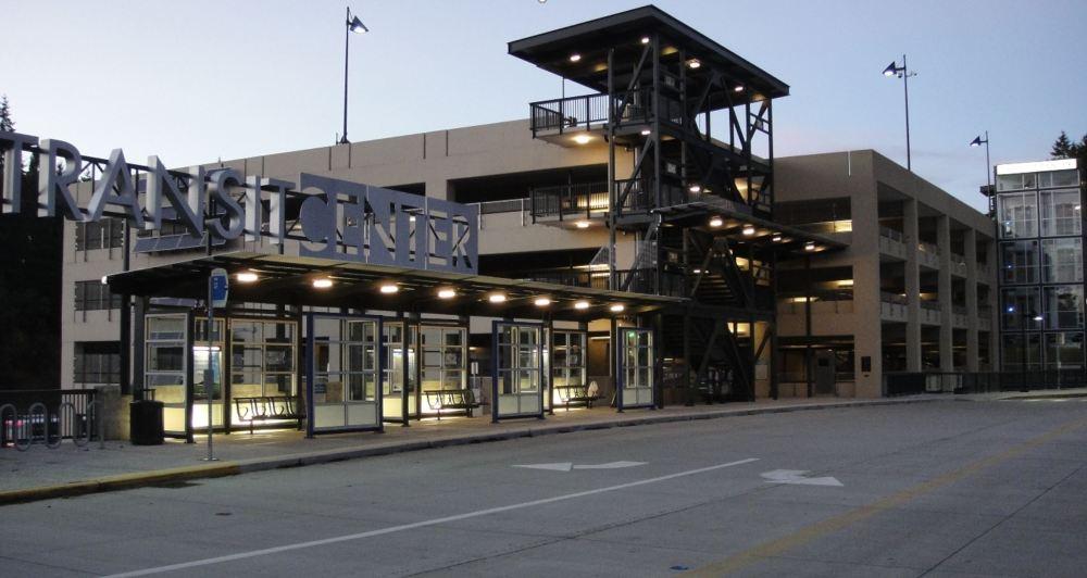 Transit Center, Montlake Terrace, Washington - Compressed