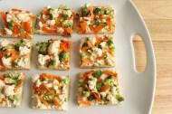 Veggie Pizza, adapted from allrecipes.com